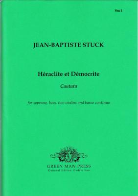 Stuck, Jean-Baptiste (1680-1755): Héraclite et Démocrite