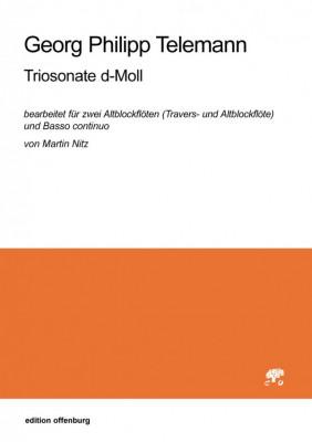 Telemann, Georg Philipp (1681–1767): Triosonate d-Moll