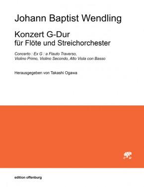 Wendling, Johann B. (1723–1797): Konzert G-Dur – Partitur